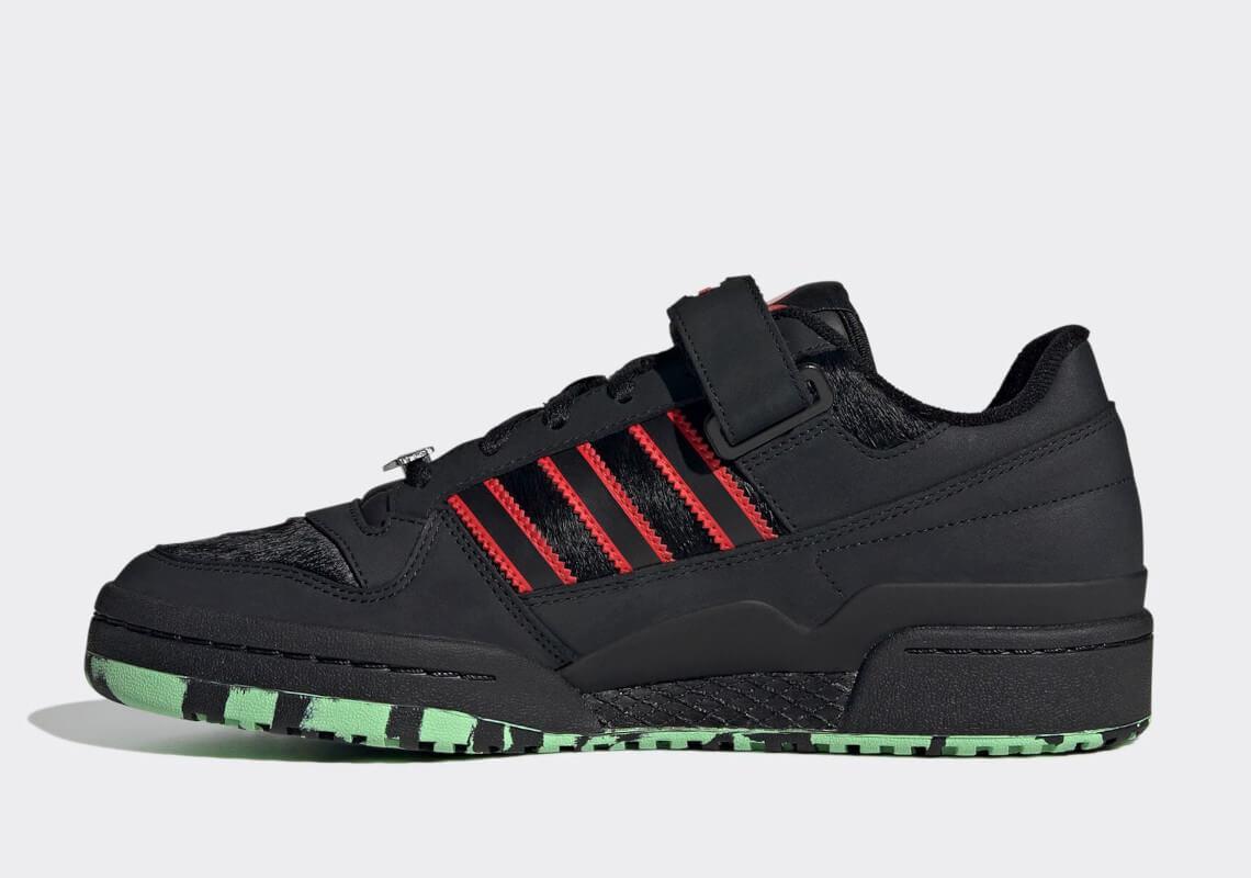 zapatillas Adidas Forum Low 'Dracula' 2021