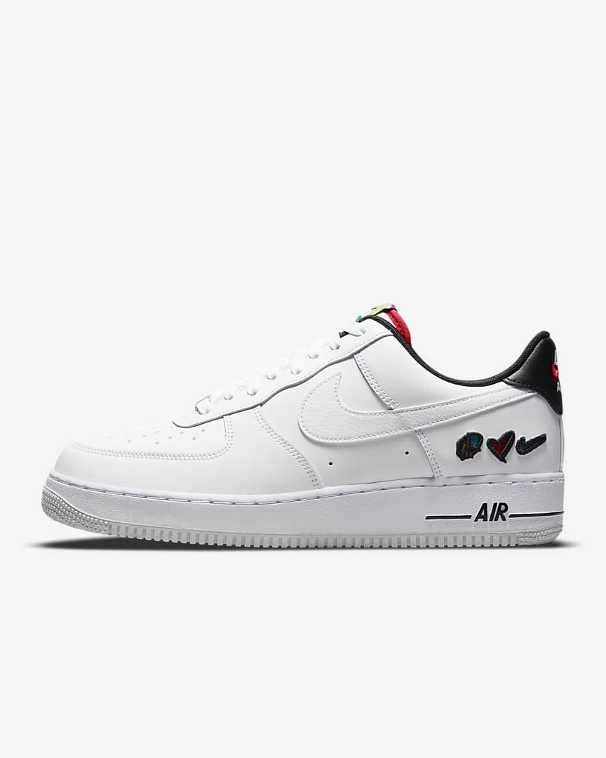 Nike Air Force 1 '07 LV Peace Love Swoosh