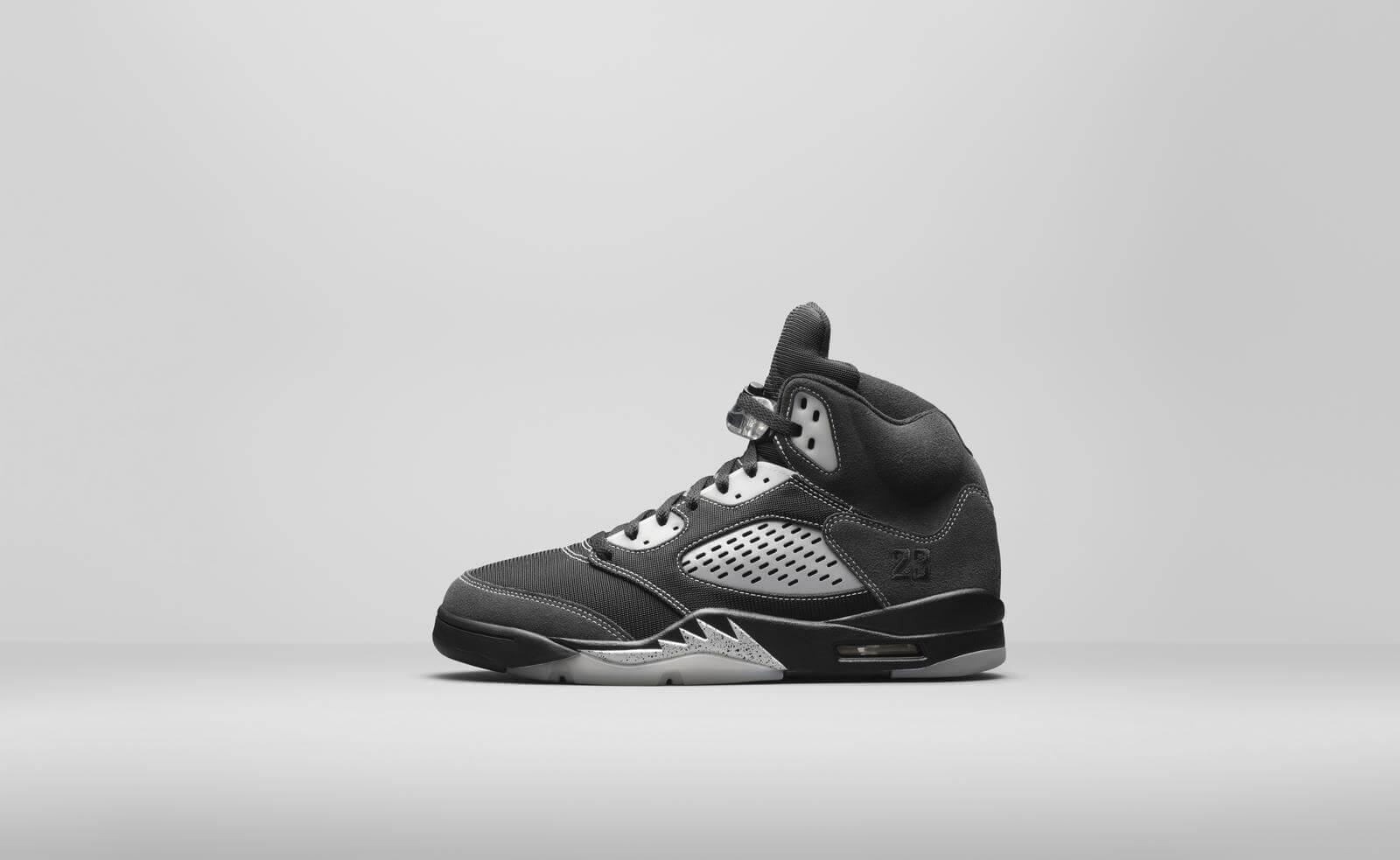 Air Jordan 5 reflective
