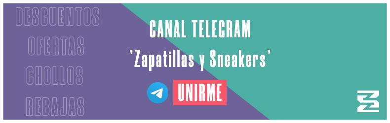 Canal Telegram Zapatillas y Sneakers