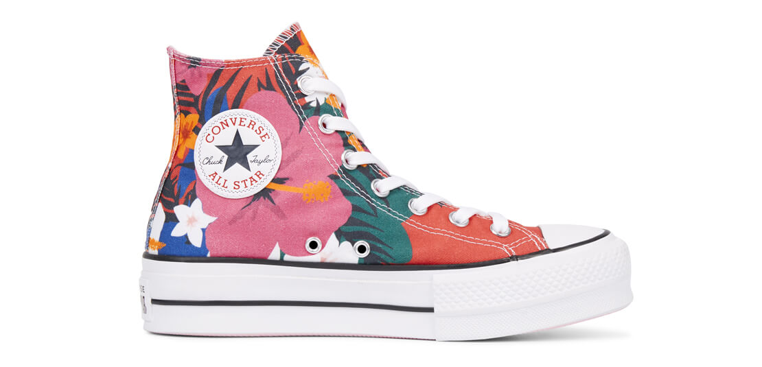 Converse Chuck Taylor All Star Paradise Prints Lift High Top