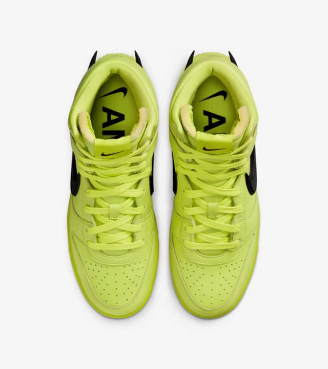 zapatillas Nike Dunk High x AMBUSH Flash Lime