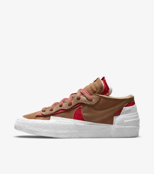 zapatillas Nike Blazer Low x Sacai British Tan 2021