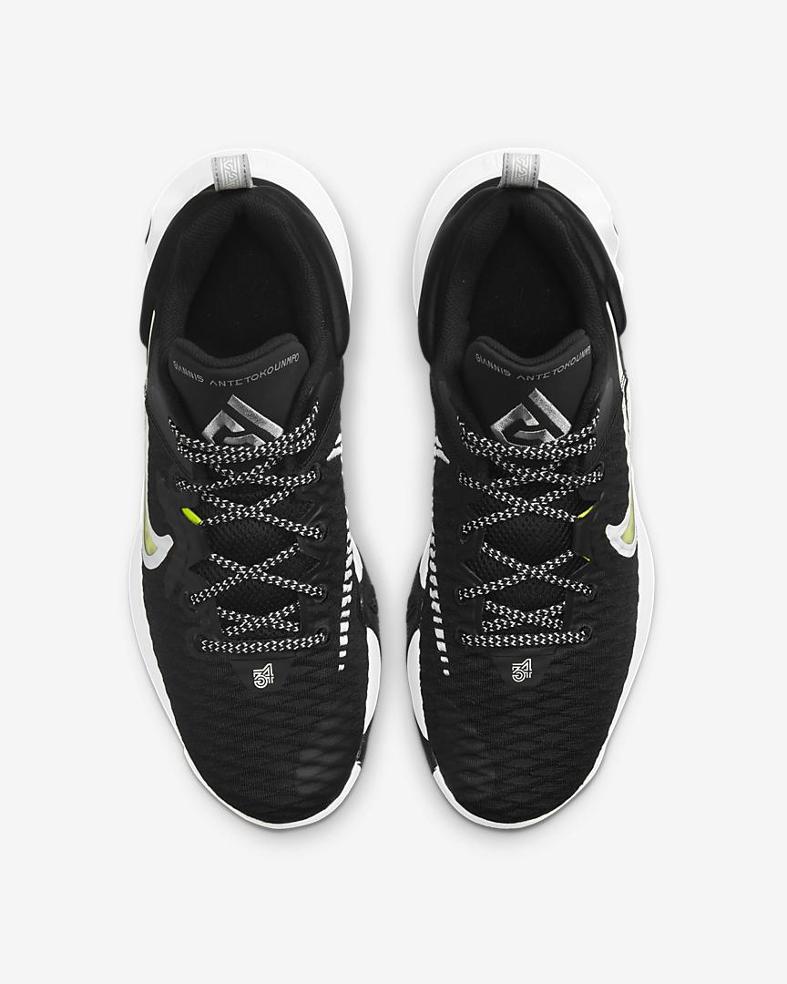 Giannis Immortality, zapatilla Nike color negro