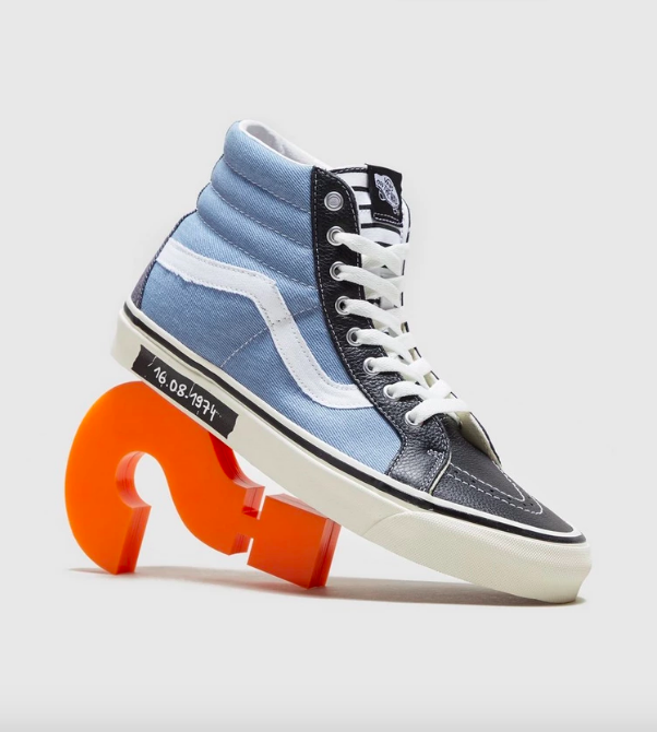 ???? VANS SK8-HI exclusivas SIZE punk RAMONE zapatillasysneakers.com