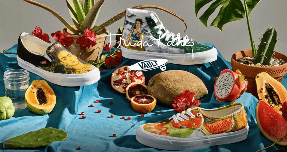 Espectacular colección de Vans de Frida Kahlo| Arte en tus