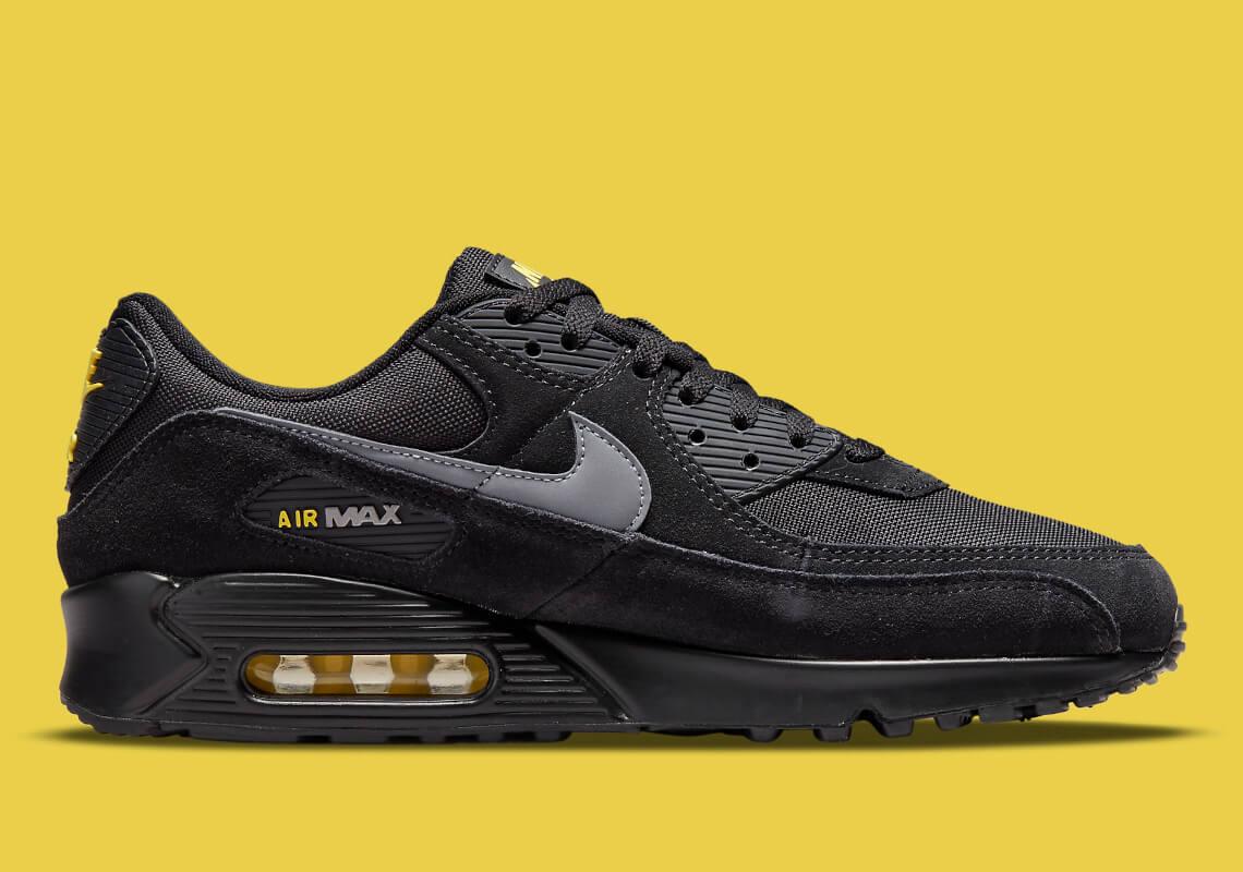 "Nike Air Max 90 ""Black/Yellow"" 2021 DO6706-001"