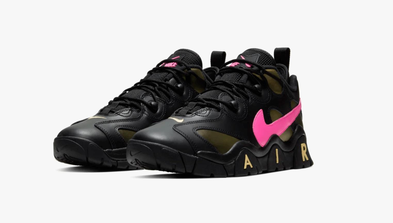 Nike Air Barrage Low Pink Blast/ Infinite Gold 2020
