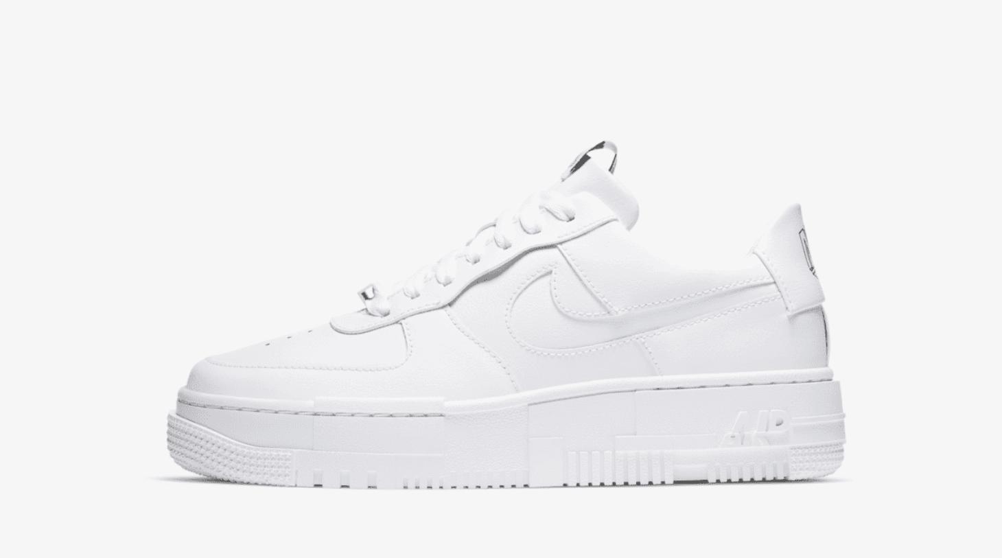 zapatillas Nike Air Force 1 Pixel White (blanco) 2020