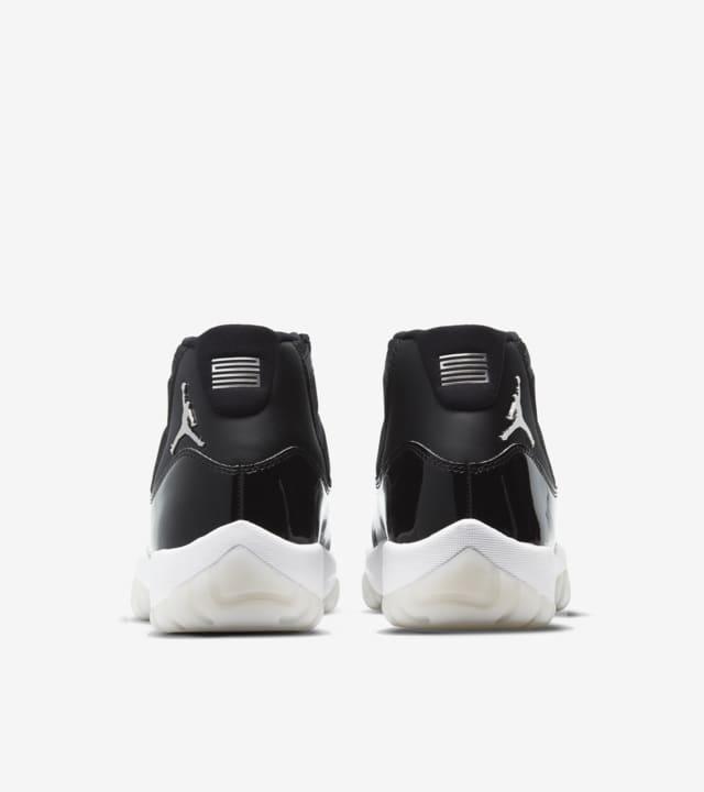 Nike Air Jordan 11 jubilee negro charol