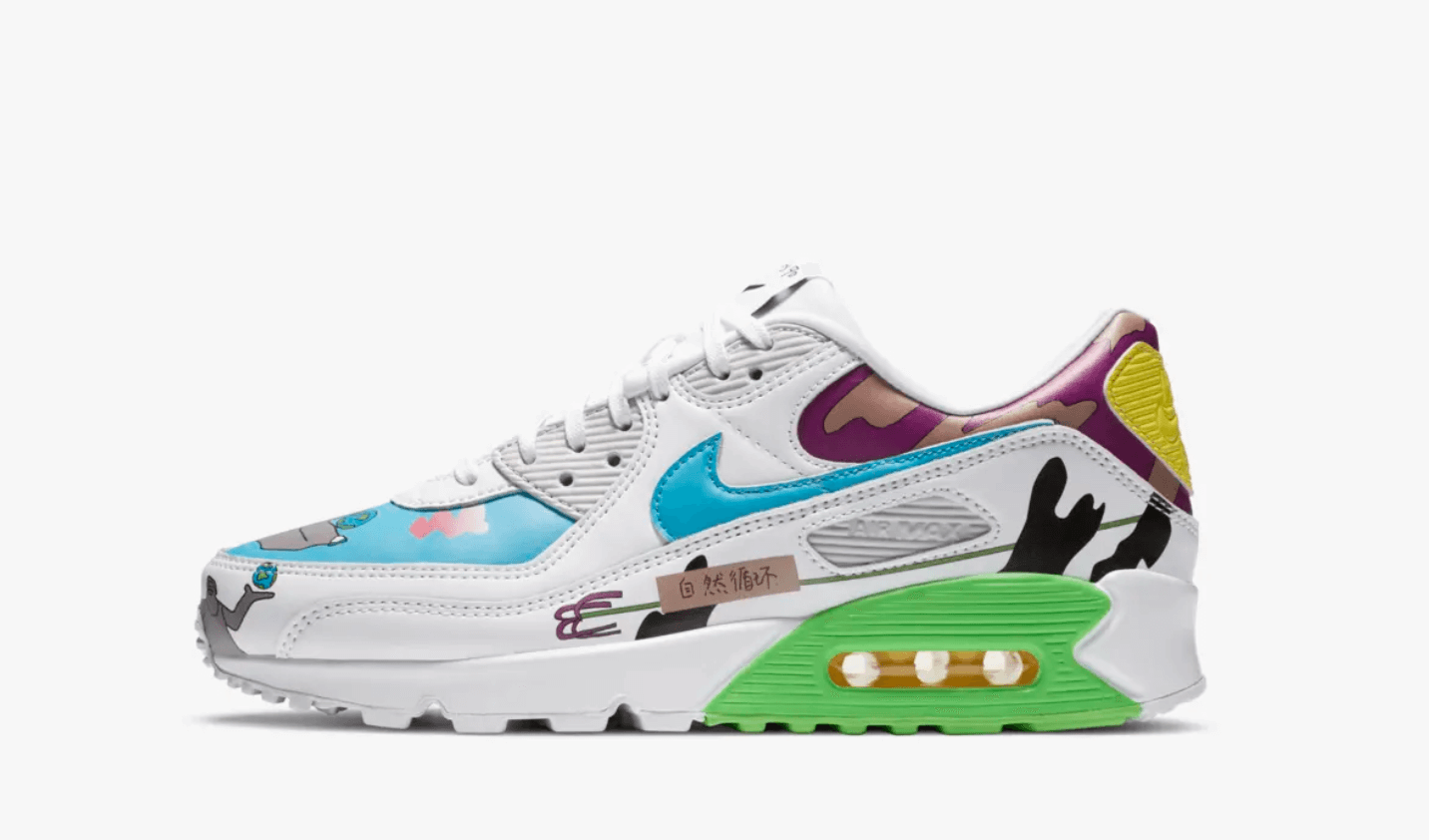 Nike Air Max 90 flyleather Rouhan Wang 202
