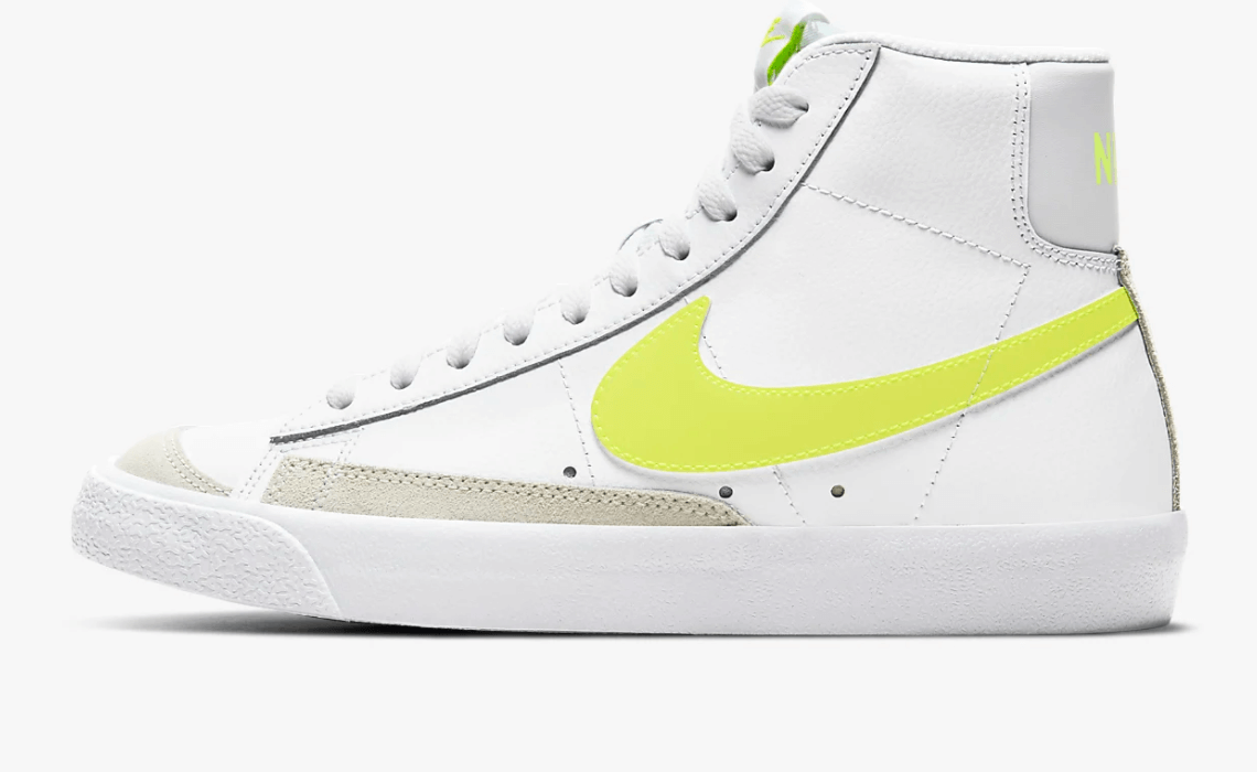 Nike Blazer Mid '77 mujer colores fluor