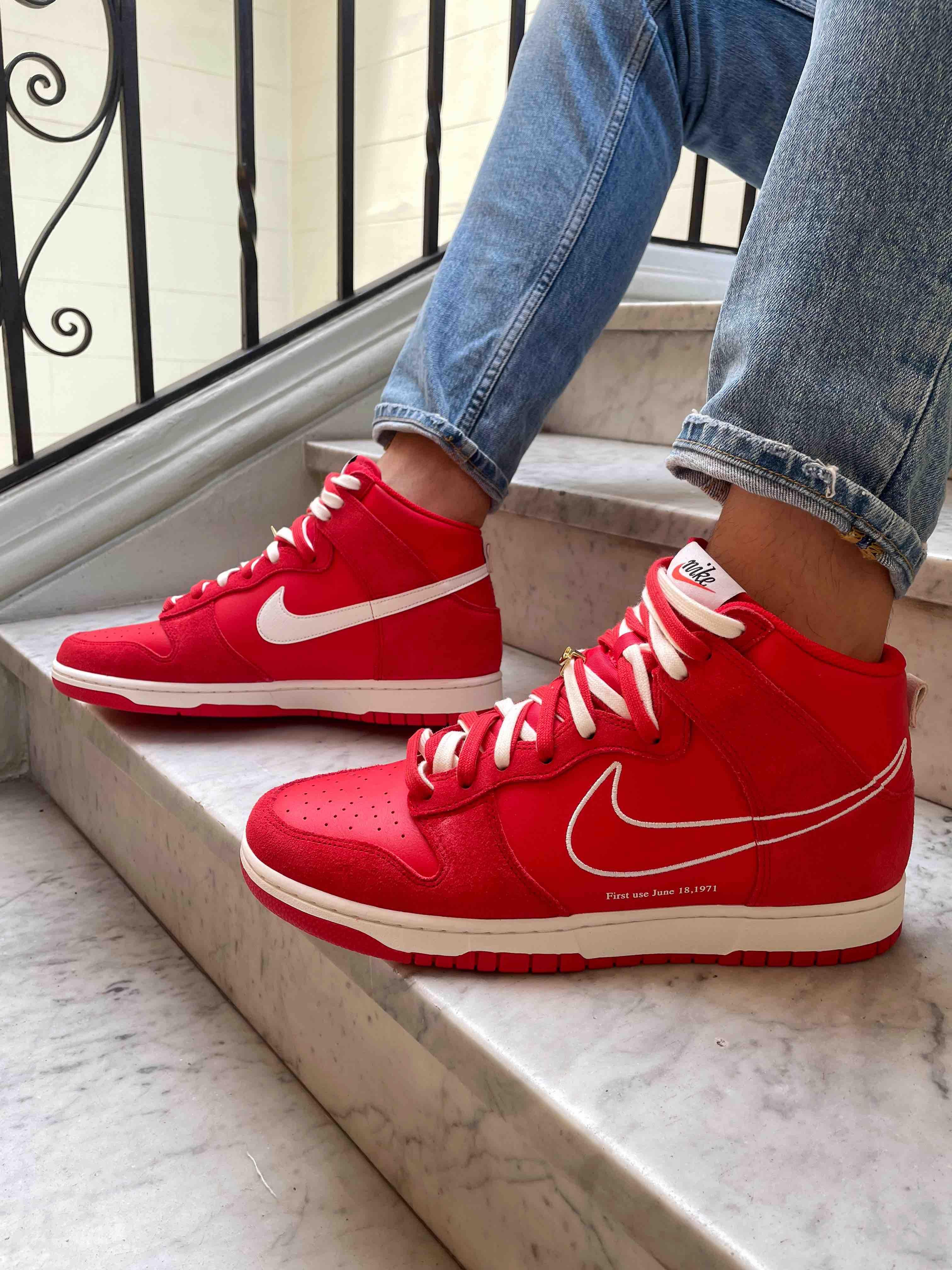 Nike Dunk High SE First Use