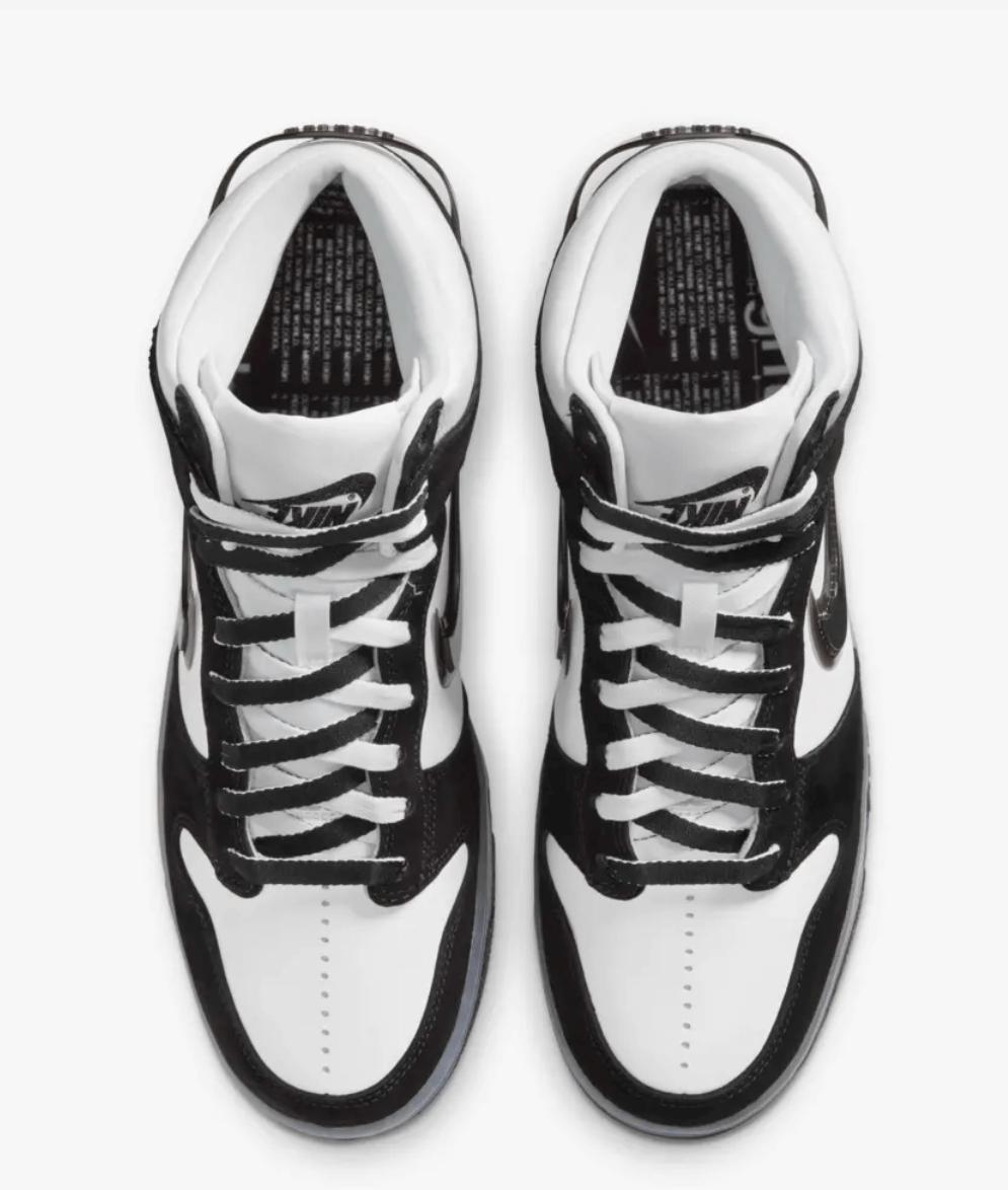 trainers Nike Dunk High x Slam Jam Clear Black