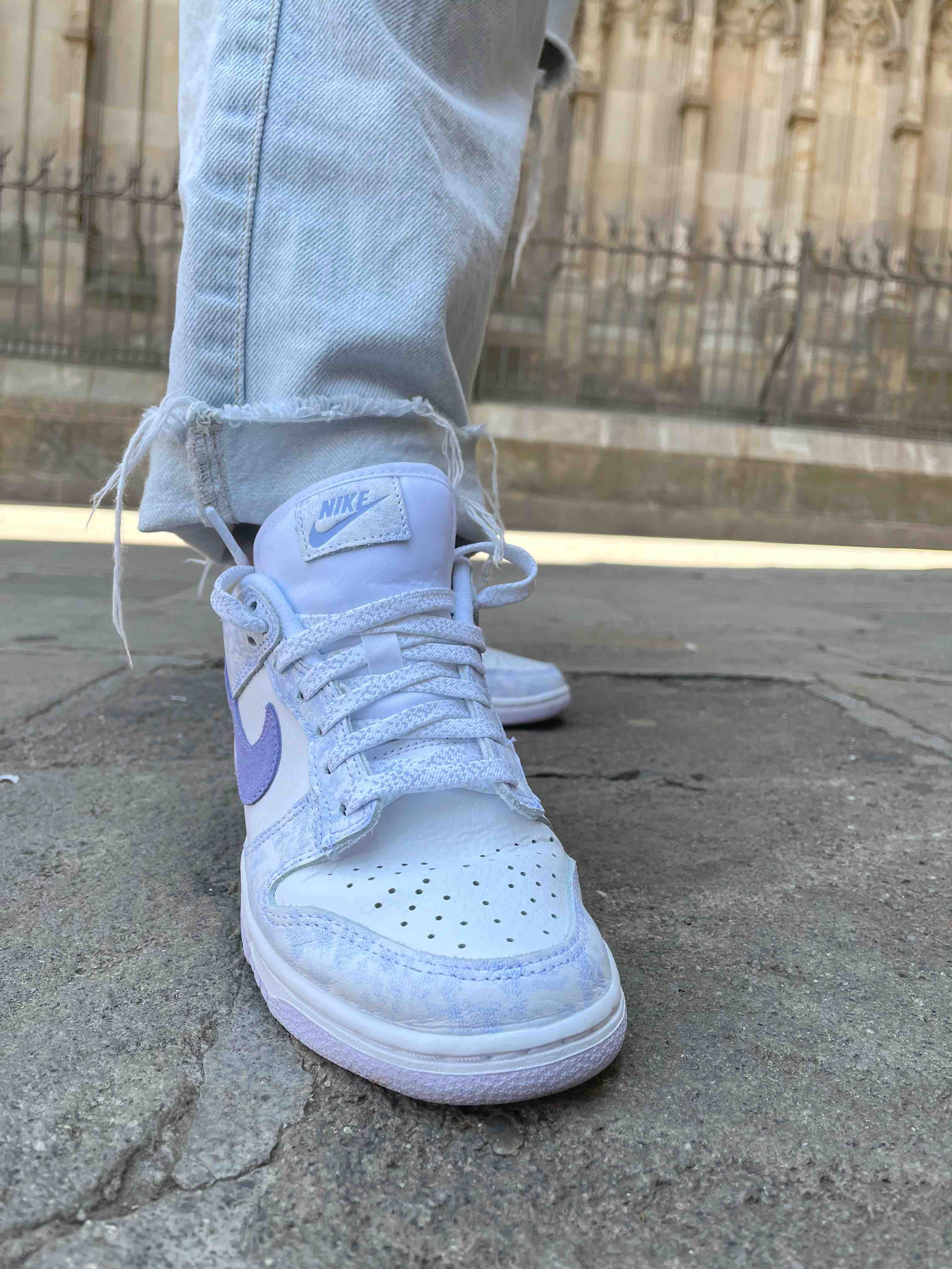 Nike Dunk Low Purple Pulse Mujer