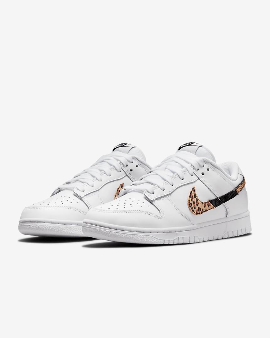 Nike Dunk Low SE animal print blancas