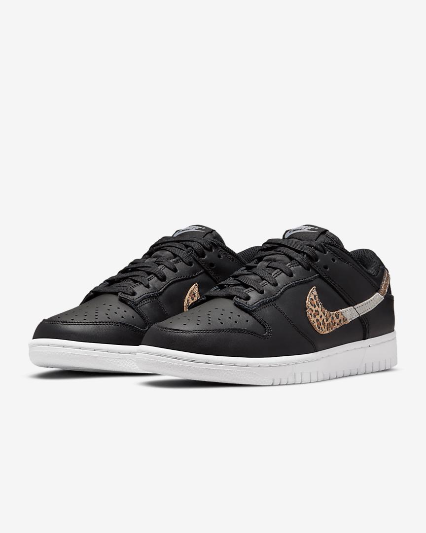 Nike Dunk Low SE animal print negras