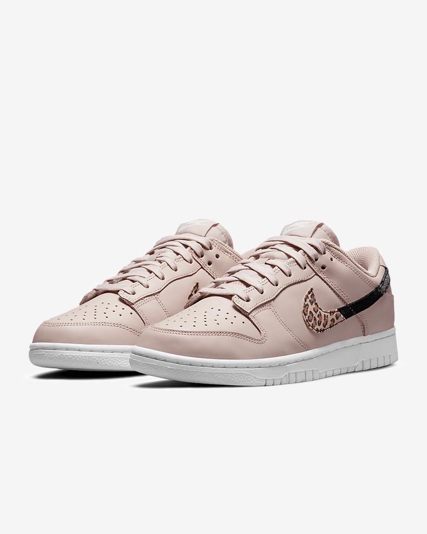 Nike Dunk Low SE animal print rosa