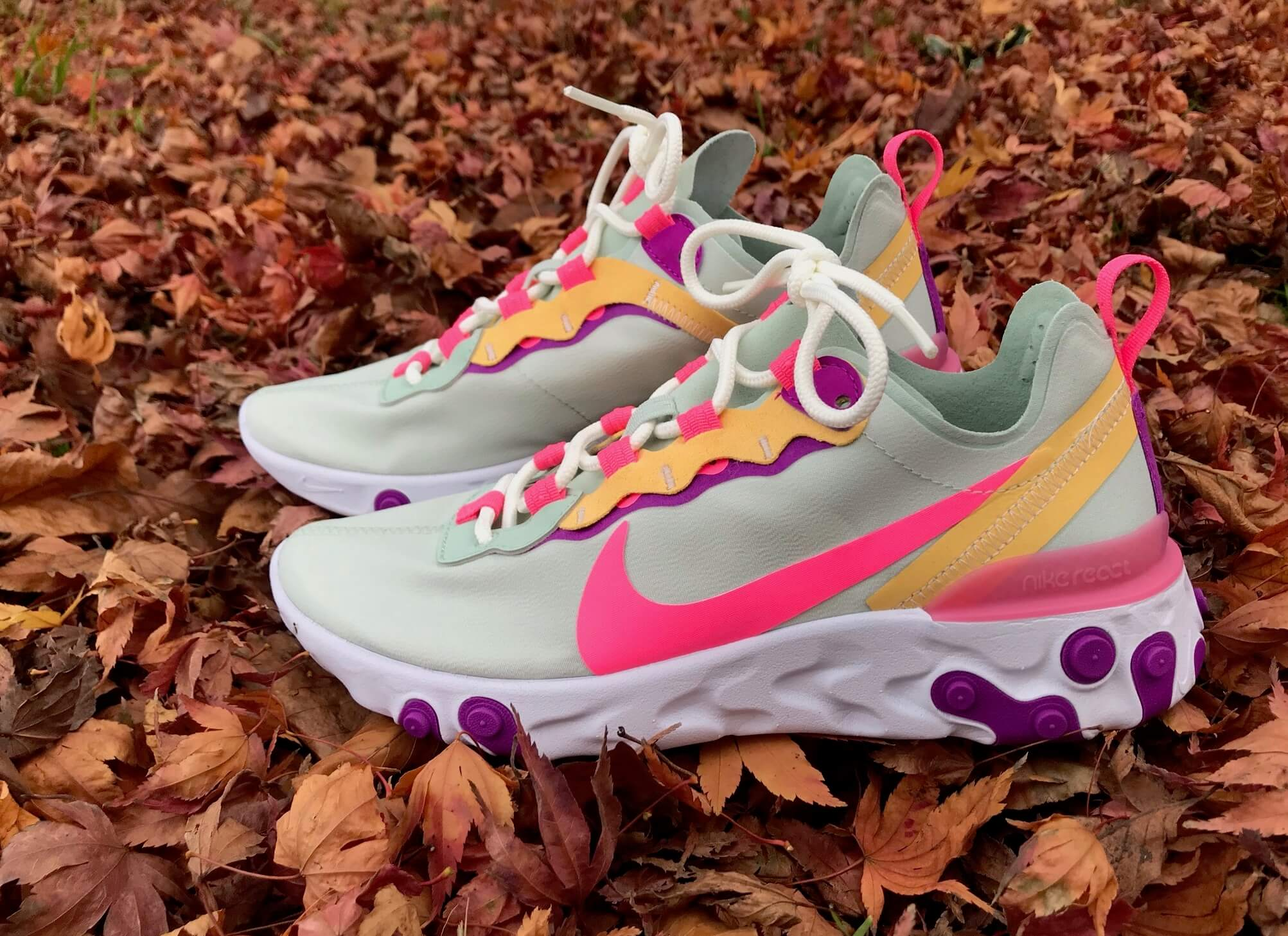Nike React Element 55 para hombre y mujer. Black Friday 2020