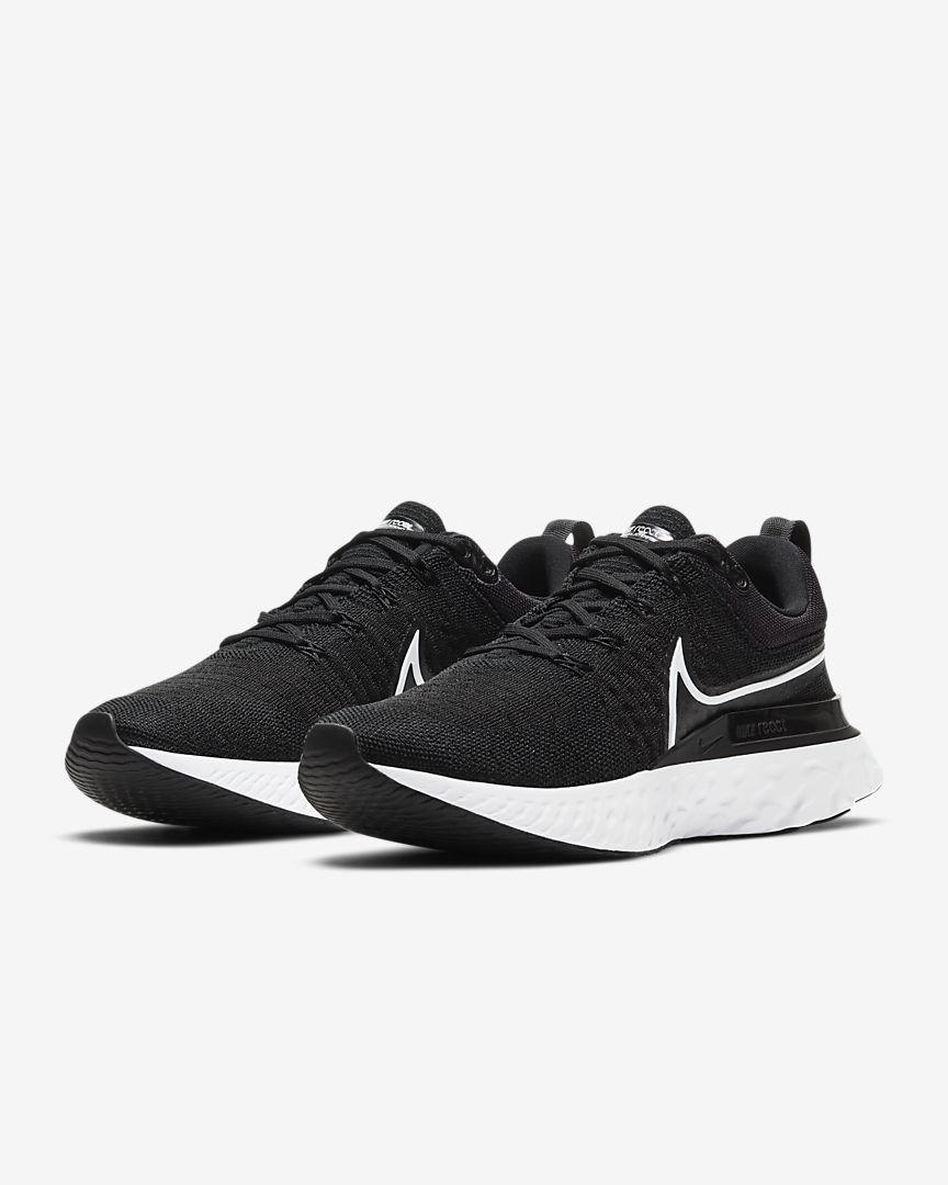 Nike React Infinity Run Flyknit 2_NegroBlanco