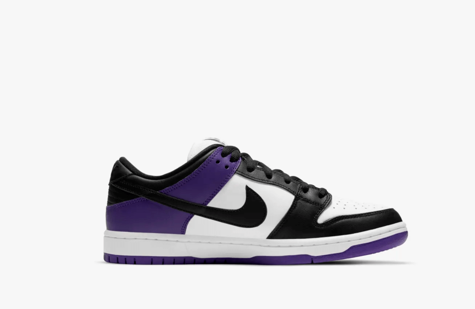 sneakers trainers Nike SB Dunk Low pro Court Purple 2021