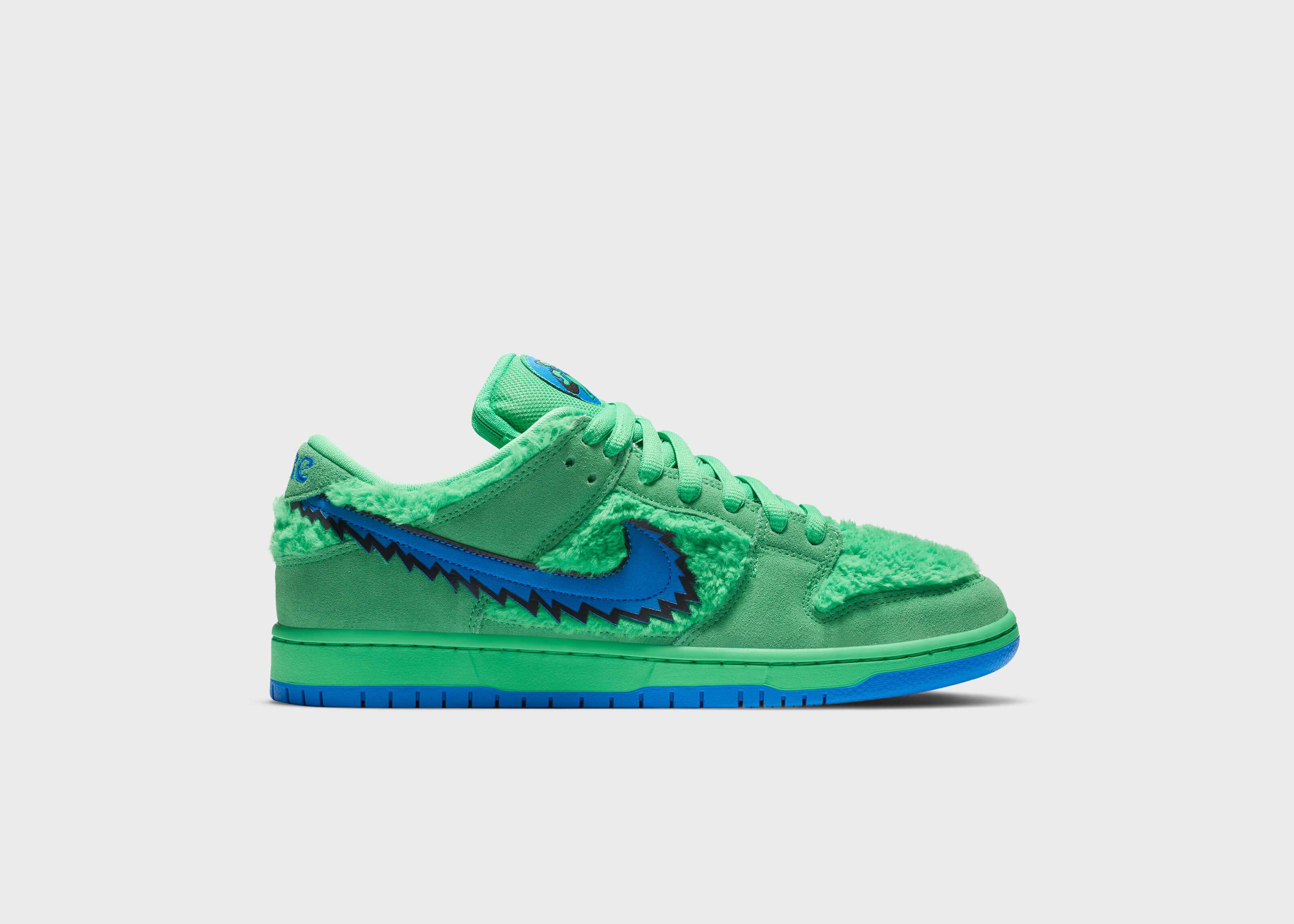 NikeSB DunkLowGratefulDead Verde
