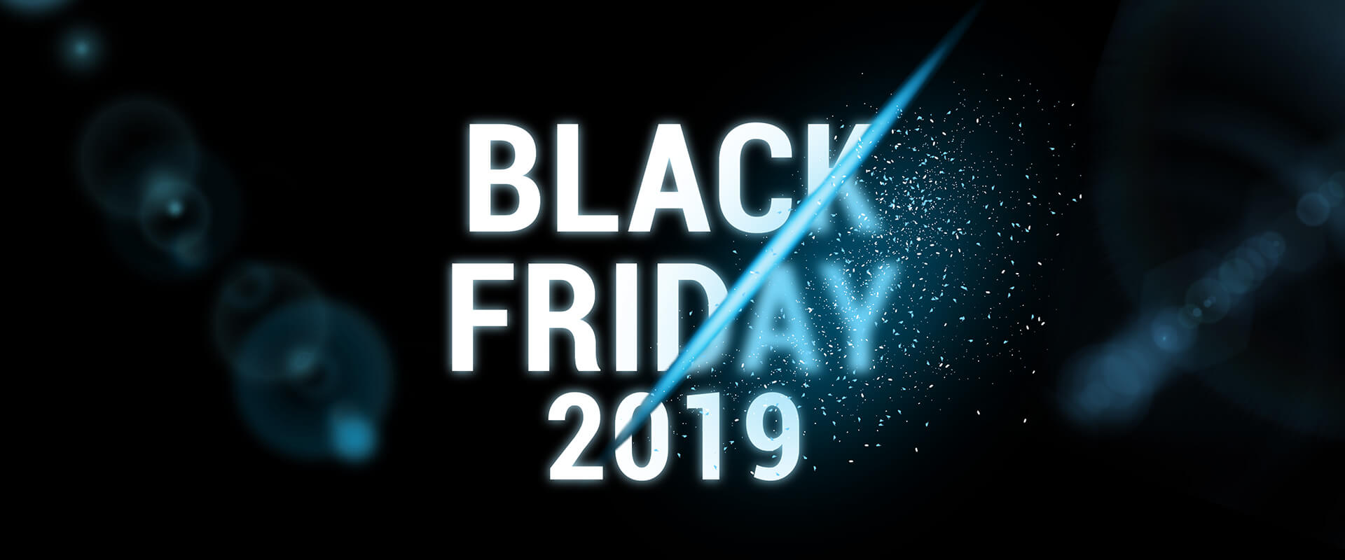 Sports shoes black friday banner