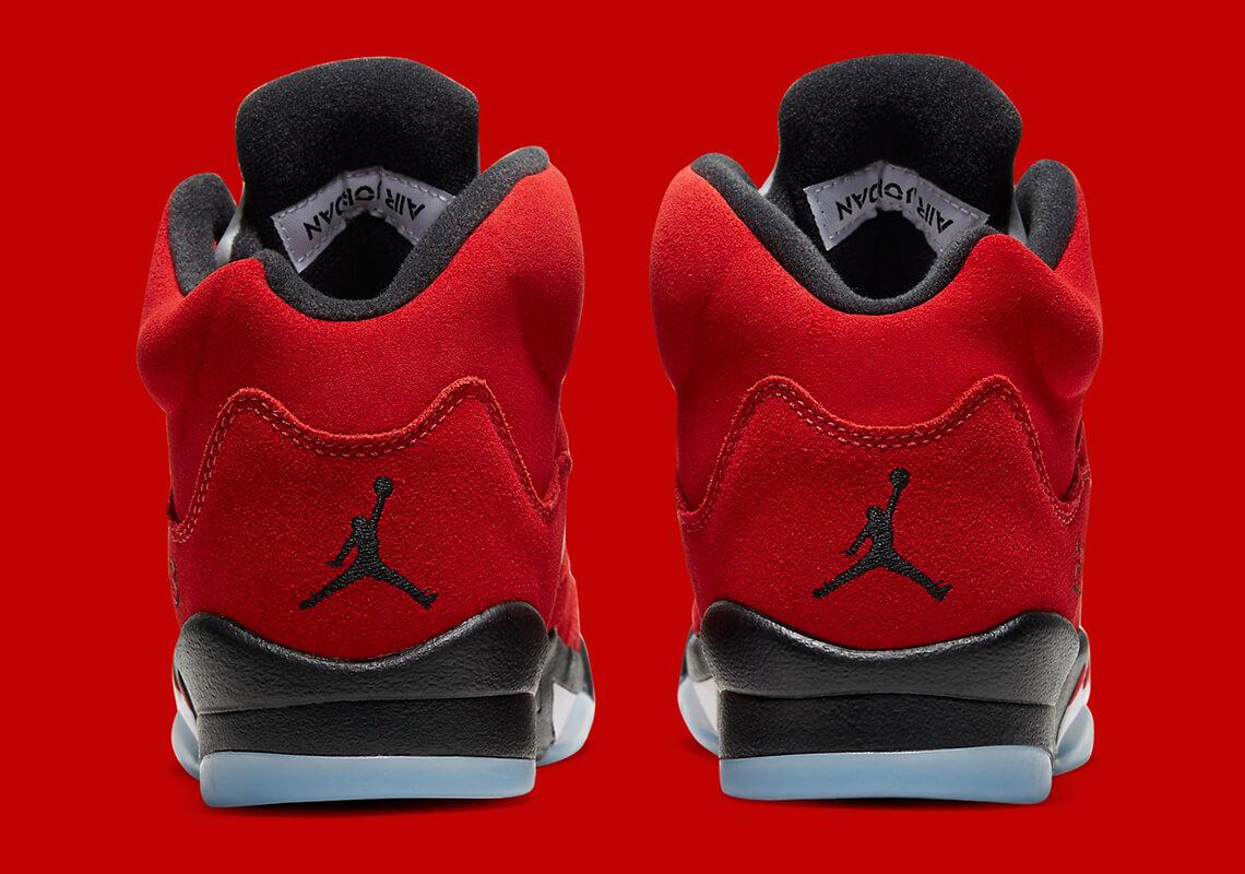 Nuevas zapatillas Air Jordan 5 Raging Bull 2021 baloncesto Michael Jordan