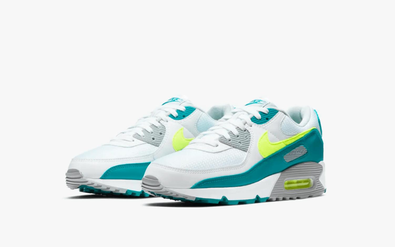 zapatillas Nike Air Max 90 Hot Lime 2021