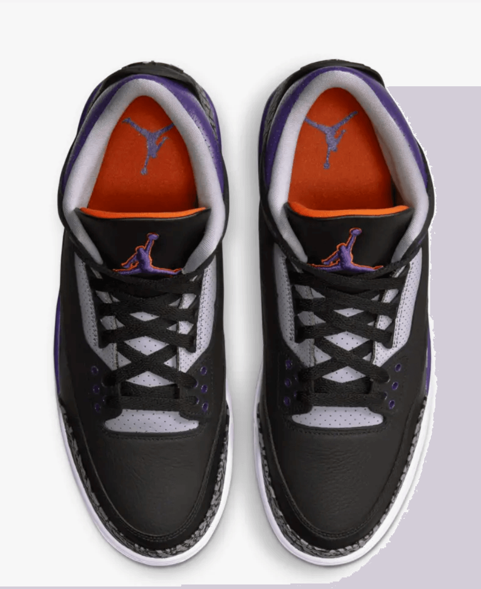 zapatillas Air Jordan 3 Court Purple 2020