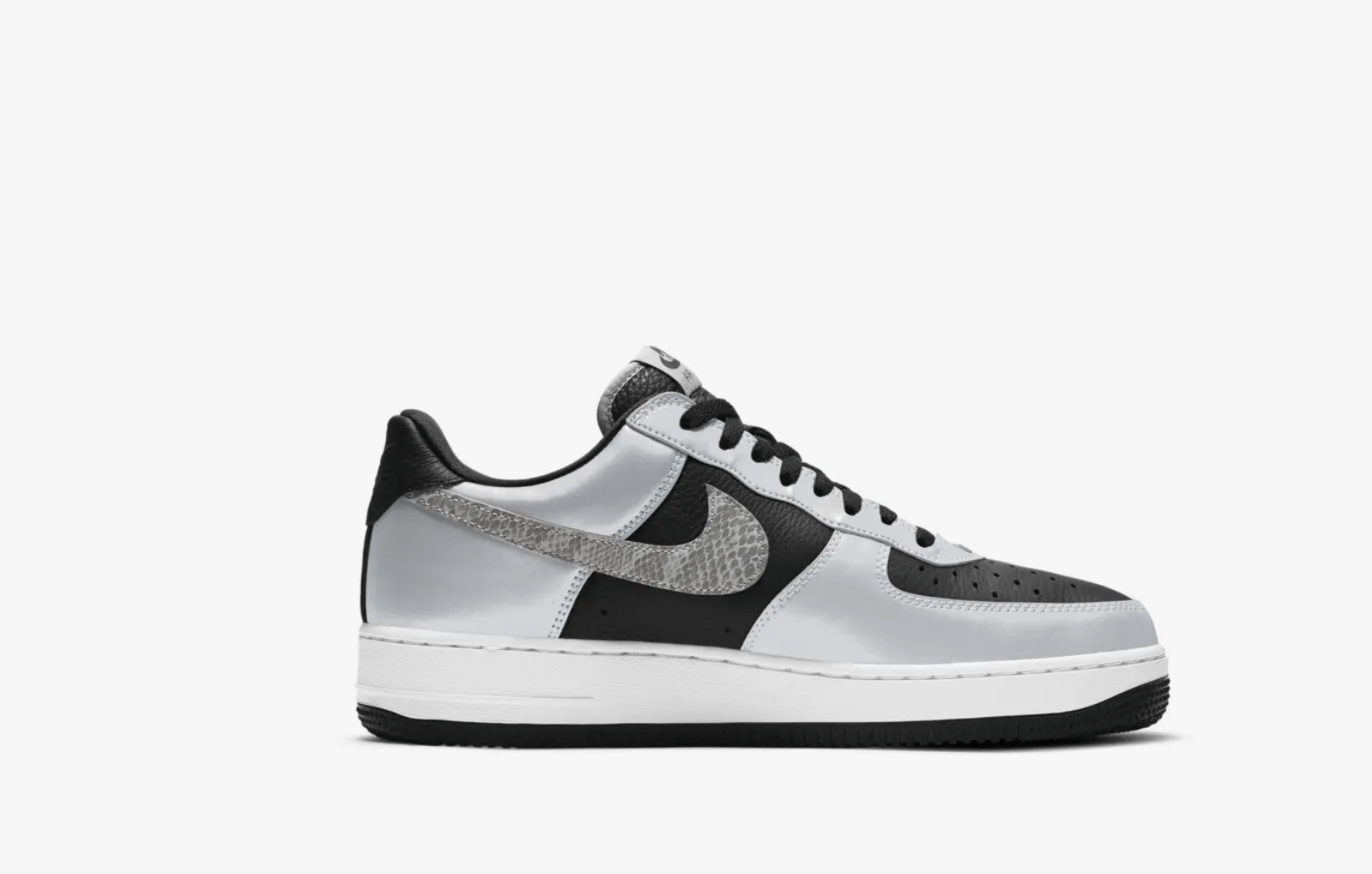 zapatillas Nike Air Force 1 Silver Snake 2021