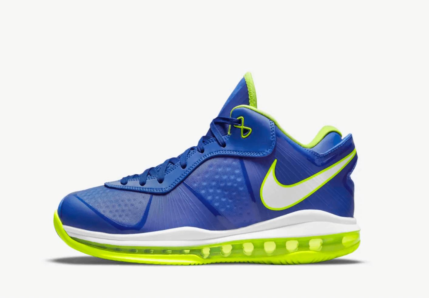 zapatillas Nike Lebron 8 V/2 low Treasure Blue 2021