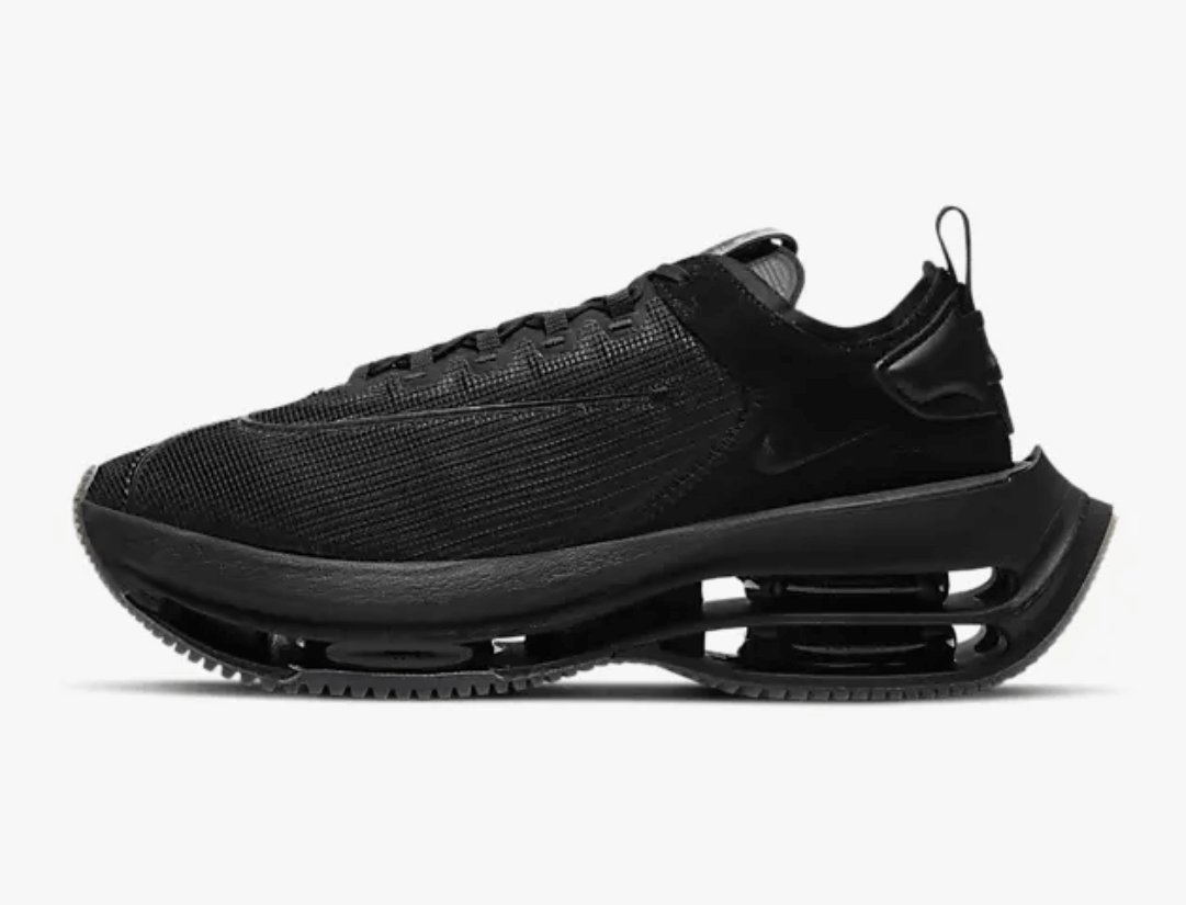 zapatillas Nike Zoom Double Stacked color negro (black)