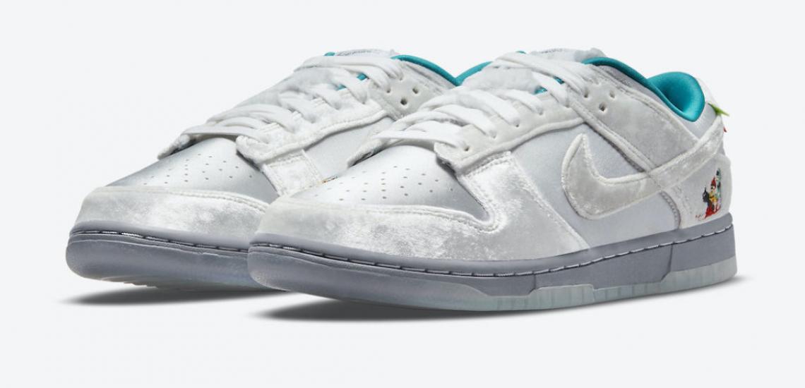 Nike Dunk Low Nieve Navidad 2021