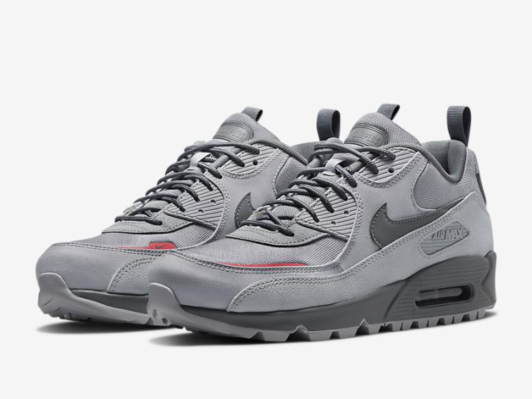 Zapatillas Nike Air Max 90 Surplus Wolf grey 2021