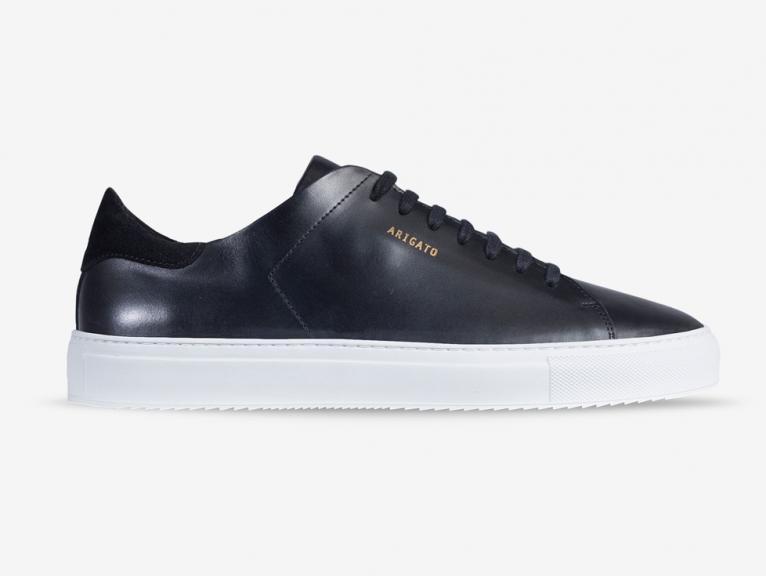 Clean 90 sneaker black leather