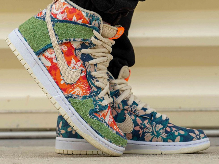 """Nike SB Dunk High """"Maui Wowie"""""""