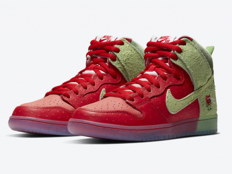 "Nike SB Dunk High ""Strawberry Cough"""