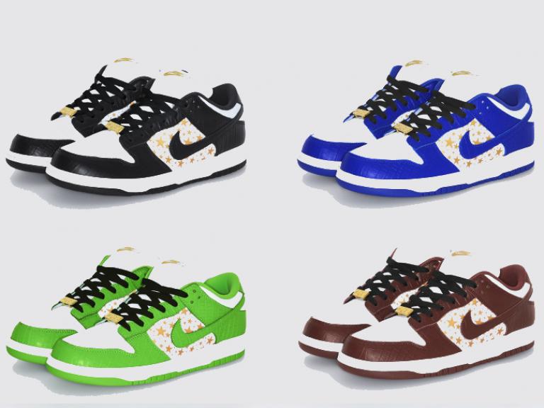 Nike Sb Dunk Low x Supreme_