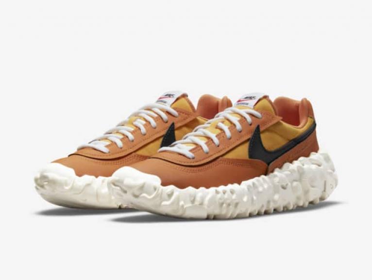 zapatillas Nike Overbreak Hot Curry y Armory Navy 2021