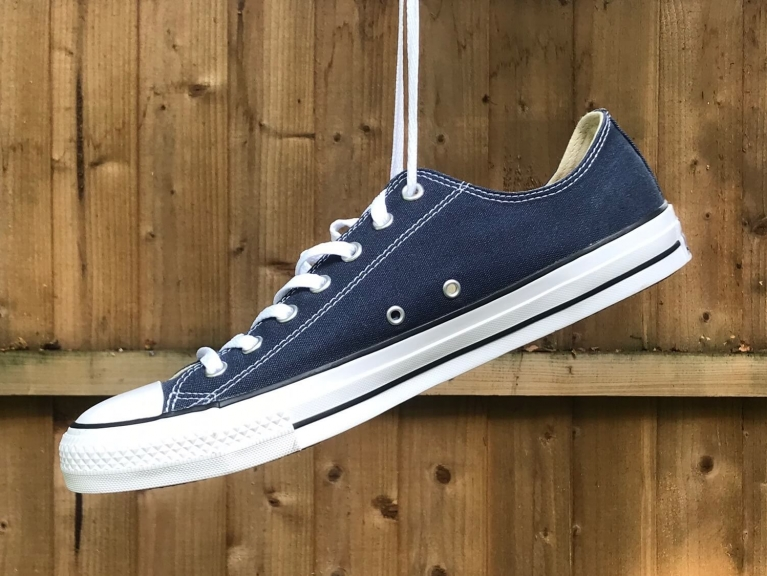 Converse All Star Low Navy Fabric