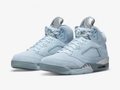 zapatillas Air Jordan 5 Bluebird para mujer 2021