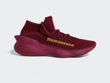 Adidas HUMANRACE SICHONA Bourgondy Pharell Williams