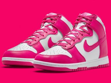 "zapatillas Nike Dunk High ""Pink Prime"""