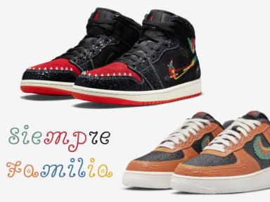 Nike Siempre Familia Dia de los muertos